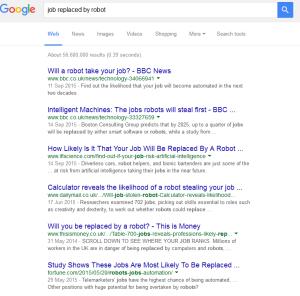 job stolen robots google page
