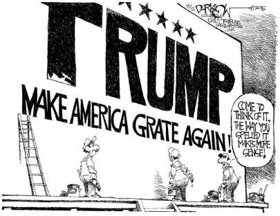 trump grate